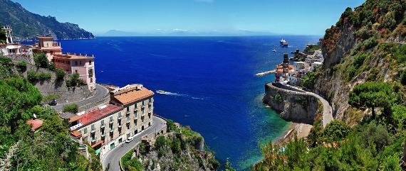 Italy Road Trip Planner Amalfi Coast Panorama