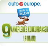 Infographic - 9 annerledes konkurranser i Finland