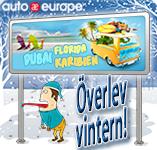 Auto Europe hyrbil- Överlev vintern