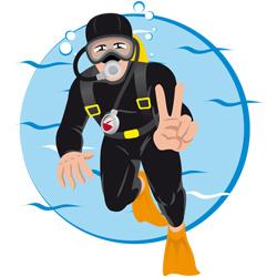 Dykkerferie infografik