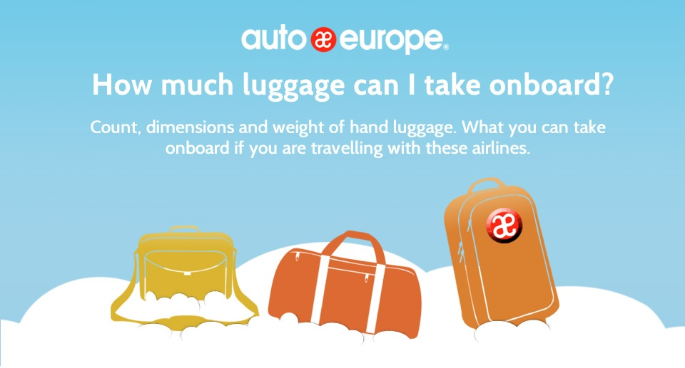 Hand Luggage Limits