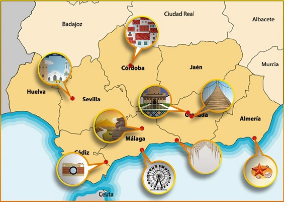 Infographic - Day trips from Malaga
