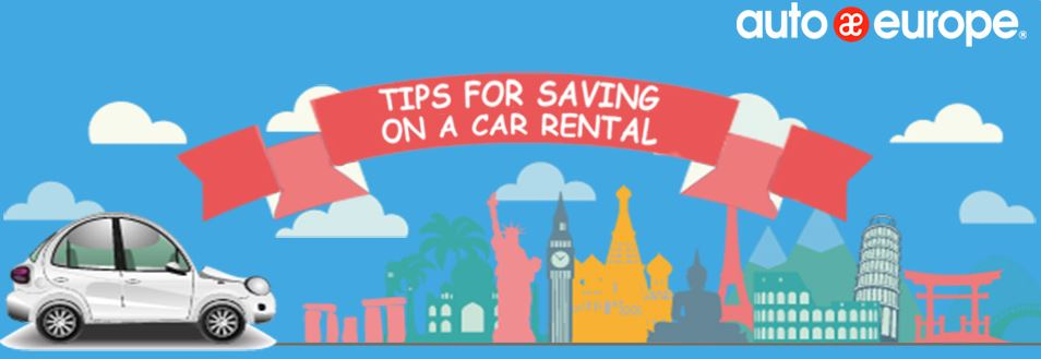Infographic - Tips for saving on a car rental