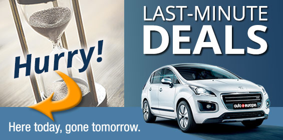 Last Minute Car Rental Deals by Auto Europe