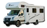 6-Berth Motorhome Hercules RV hire