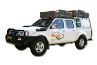 4WD Nissan Double Cab (4 berth) hire
