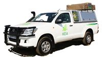 4x4 Toyota Single Cab (2 berth) hire