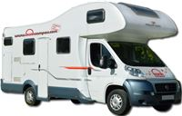 Location Motorhome Grande 6 couchages