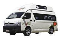 Campervan Double Down hire (4-Berth)