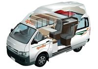 Endeavour Camper hire (4-Berth)