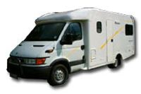 Discoverer  campervan 4 Berth hire