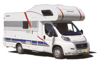 Camperverhuur via Auto Europe