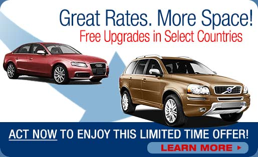 free car rental upgrades