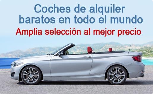 Alquiler de coches baratos en todo el mundo
