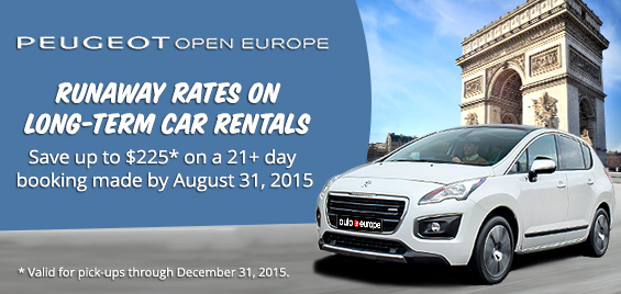 Long Term Car Rental and Peugeot Open Europe Leasing