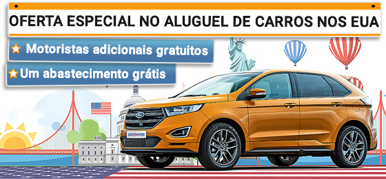 Aluguel de carros EUA - Oferta Especial - Gold Rate