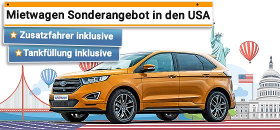 Mietwagen USA - Kanada Gold Rate