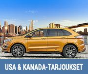 USA & Kanada autonvuokraustarjoukset - Auto Europe