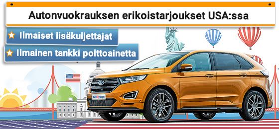 Auto huren USA - Canada Gold Rate