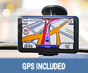 GPS included for your Car Hire