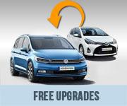 Free Car Hire Upgrades - Auto Europe