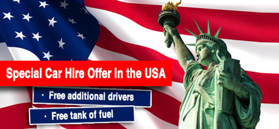 Car hire in the USA and Canada - Gold Rate