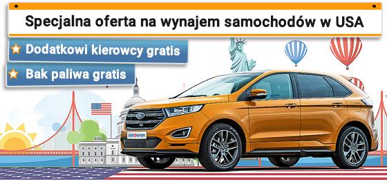 Wynajem samochodów w USA i Kanadzie z Gold Rate
