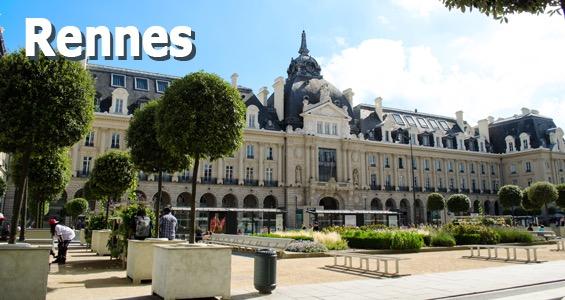 Road Trip Oversigt Frankrig Bretagne Rennes