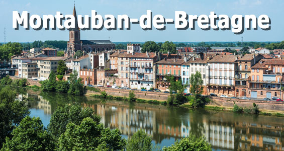 Kiertomatka Ranska Bretagne Montauban-de-Bretagne
