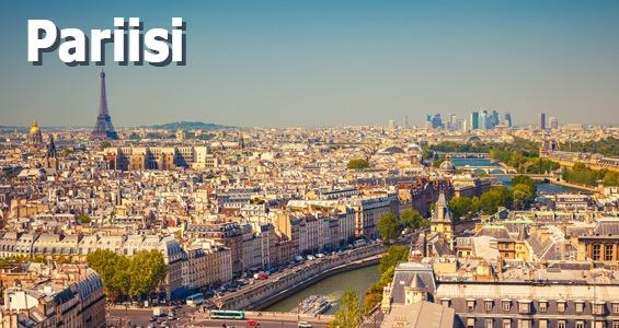 Kiertomatka Ranska Pariisi