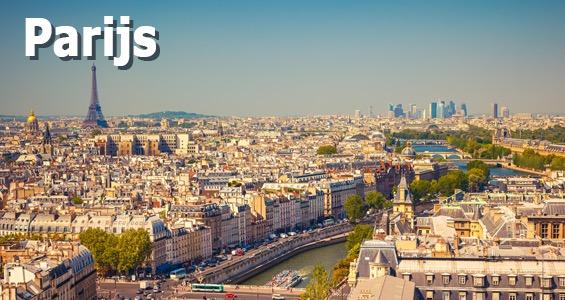 Roadtrip overzicht Parijs