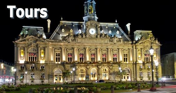 Stadshuset i Tours, Frankrike