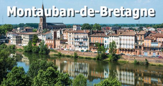 Road Trip översikt Frankrike Bretagne Montauban-de-Bretagne
