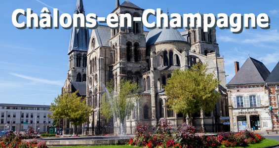Road Trip Overview France Chalons en Champagne