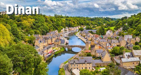 Kiertomatka Ranska Bretagne Dinan