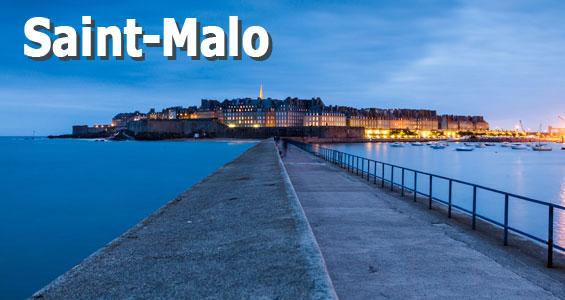 Kiertomatka Ranska Bretagne Saint-Malo