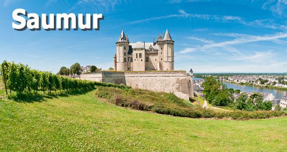 Kiertomatka Loiren laakso Saumur