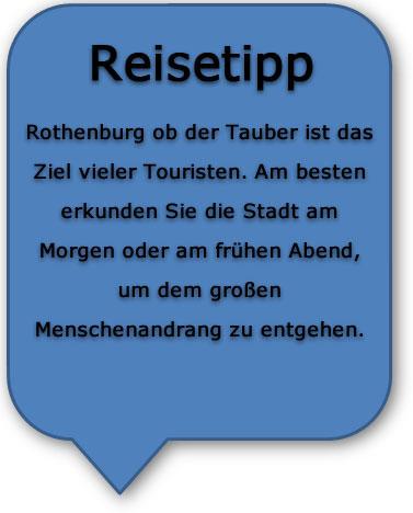 Romantische Straße Rothenburg Reisetipp