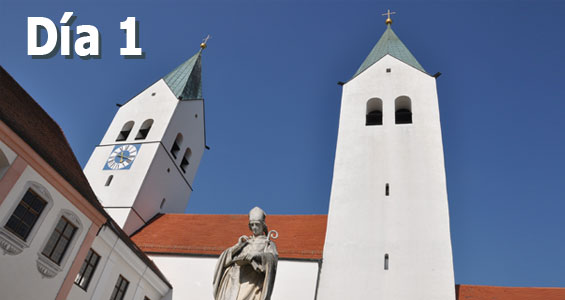 Road trip Biergarten en Alemania - Día 1 Freising
