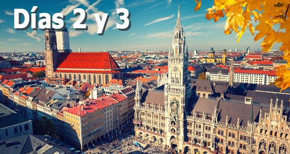 Road trip Biergarten en Alemania - Día 2 y 3 en Múnich
