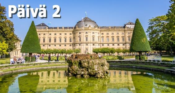 Saksan kiertomatka Romanttinen reitti päivä 2