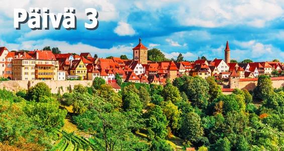 Saksan kiertomatka Romanttinen reitti päivä 3