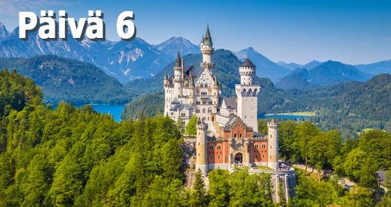 Saksan kiertomatka Romanttinen reitti päivä 6