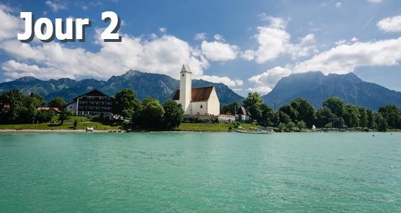Road trip sur la route allemande des Alpes - Jour 2