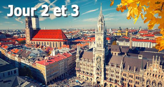 Road trip Biergarten en Allemagne - Jour 2/3 Munich