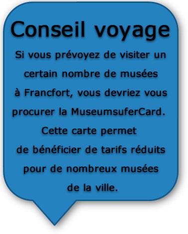 Route romantique - Conseil voyage Francfort