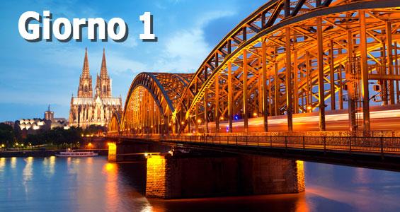 1000 km di guida sull'Autobahn - Giorno 1 Colonia