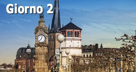 1000 km di guida sull'Autobahn - Giorno 2 Dusseldorf