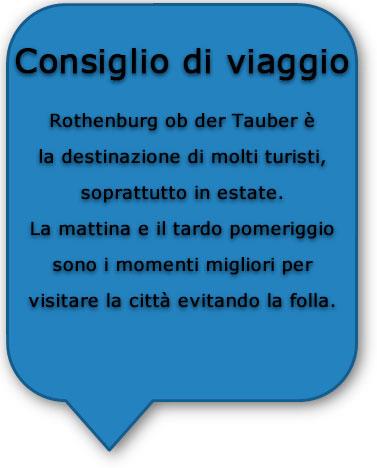 Consiglio di viaggio - Rothenburg