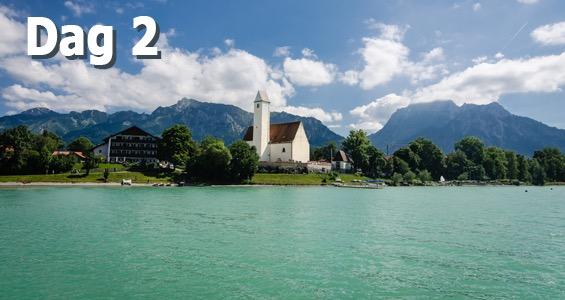 Tyska Alpvägen road trip Dag 2
